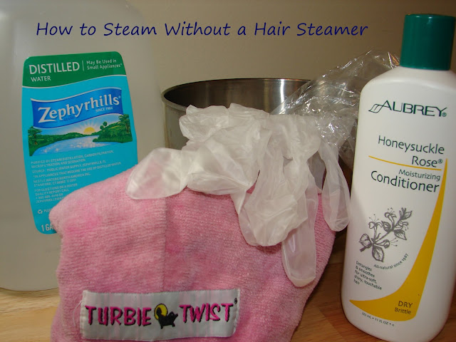 How to Steam Hair Without a Steamer