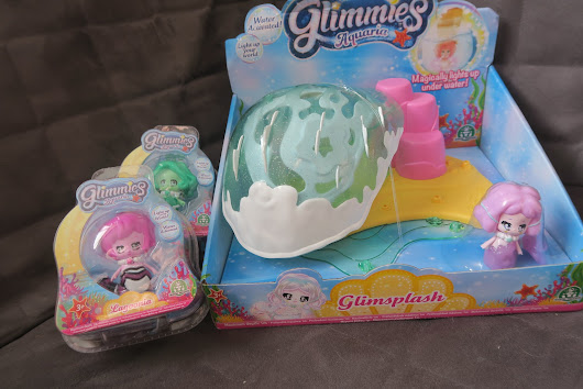 Glimmies Aquaria GlimSplash Review.