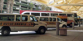 Shared shuttles from Orlando MCO