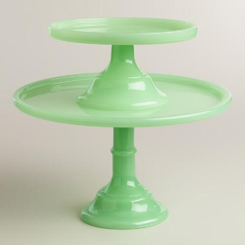 Jade-looking pedestal