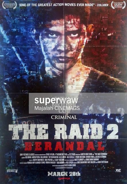 Poster Film The Raid 2 Berandal