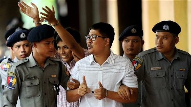 Myanmar's top court upholds jail terms for Reuters journalists Wa Lone and Kyaw Soe Oo