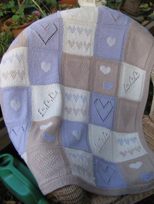 Beth Baby Blanket - Knitting Pattern
