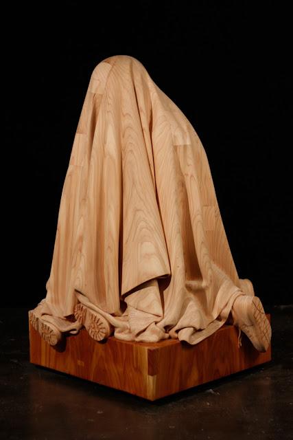 Green Pear Diaries, arte, esculturas, madera, Dan Webb