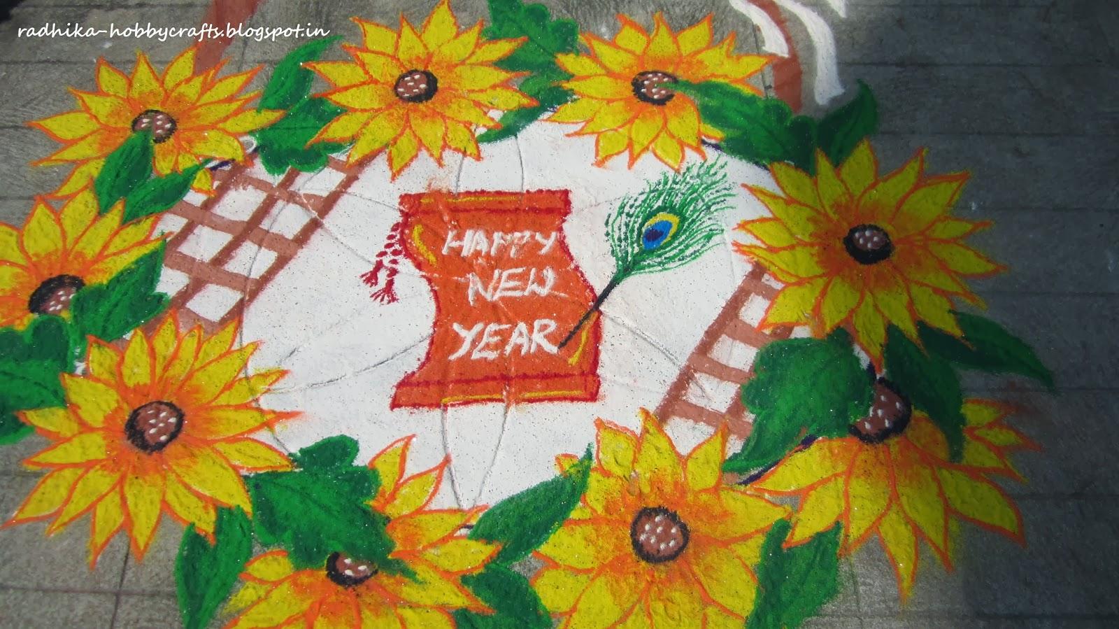 hobby crafts new year rangoli hobby crafts new year rangoli