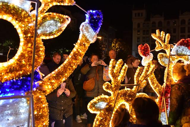 encendido de luces navideñas en Barakaldo