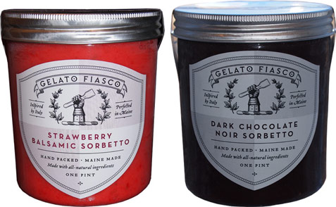 Gelato Fiasco Dark Chocolate Noir Sorbetto