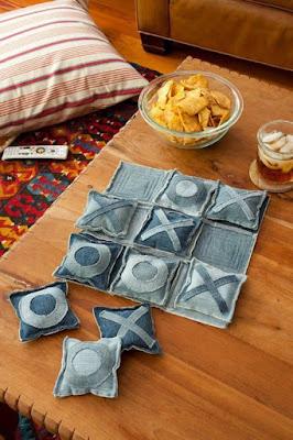 สิ่งประดิษฐ์จากวัสดุเหลือใช้แปลกๆ: งาน DIY จากกางเกงยีนส์เก่า 3