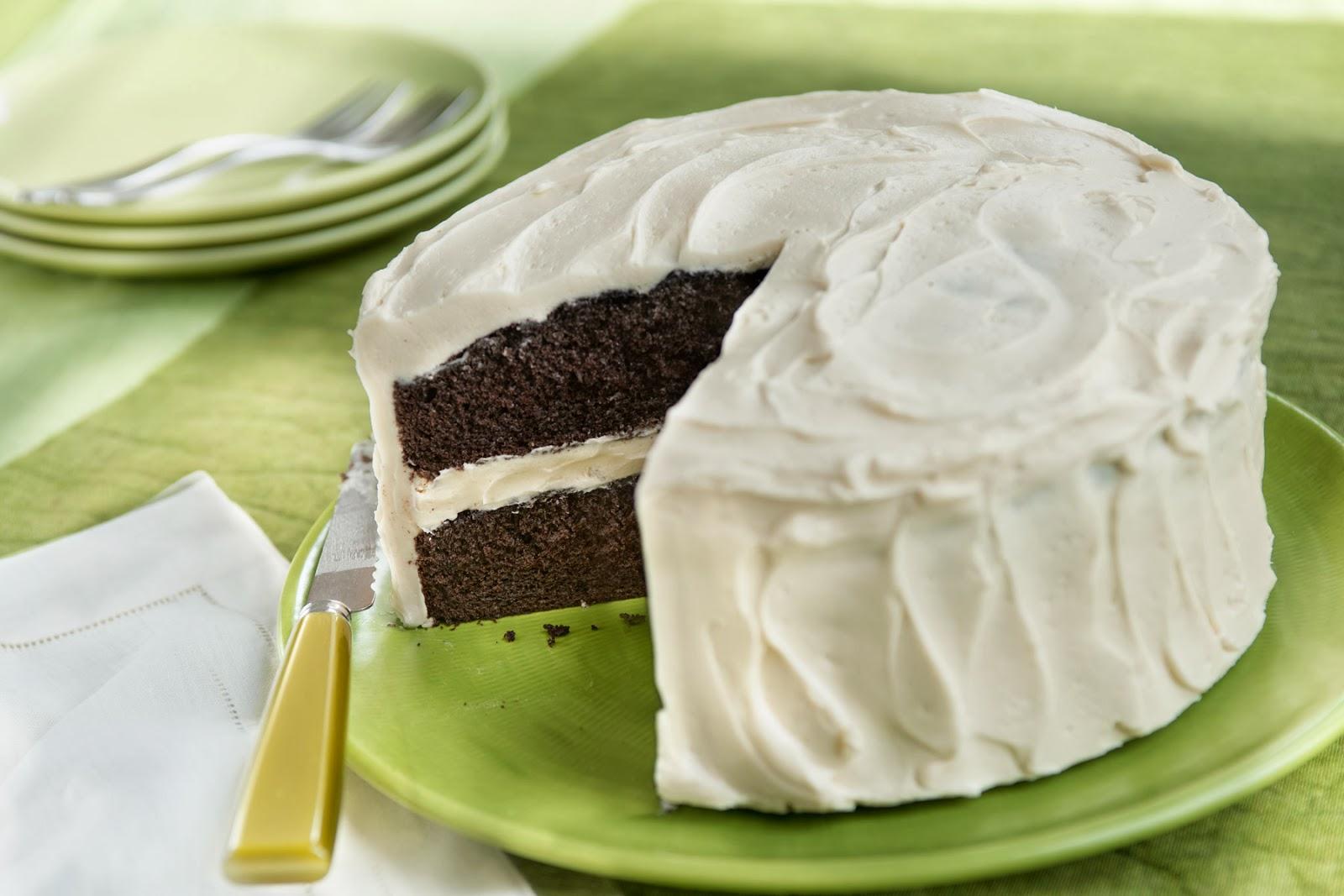 Dark Chocolate Irish Stout Cake
