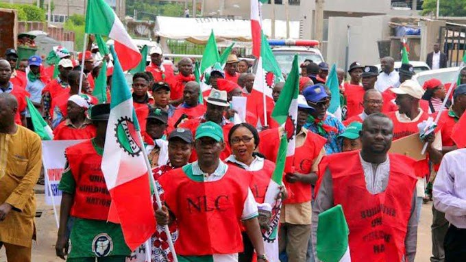BREAKING NEWS: Nigeria Labour Congress has suspended its ongoing strike