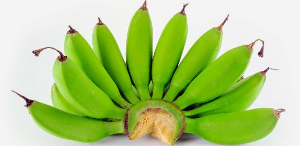 6 Beneficios da banana verde