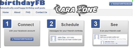 Cara Membuat agenda Otomatis Ucapan ULTAH Teman di Facebook