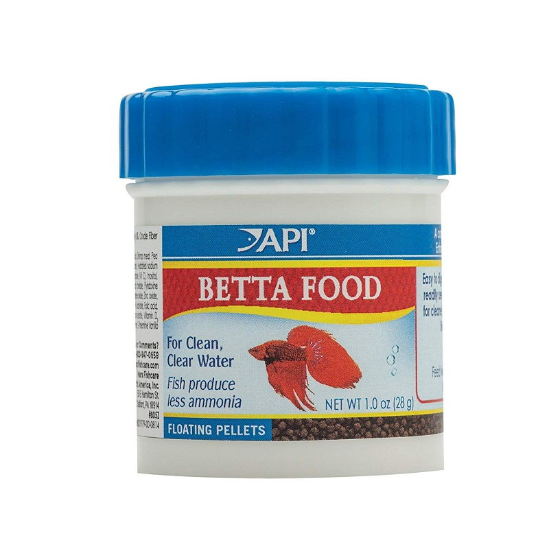 Betta Feeding Image - betta pellets