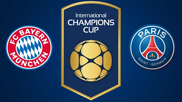 Bayern München vs  PSG Full Match Replay 21 July 2018