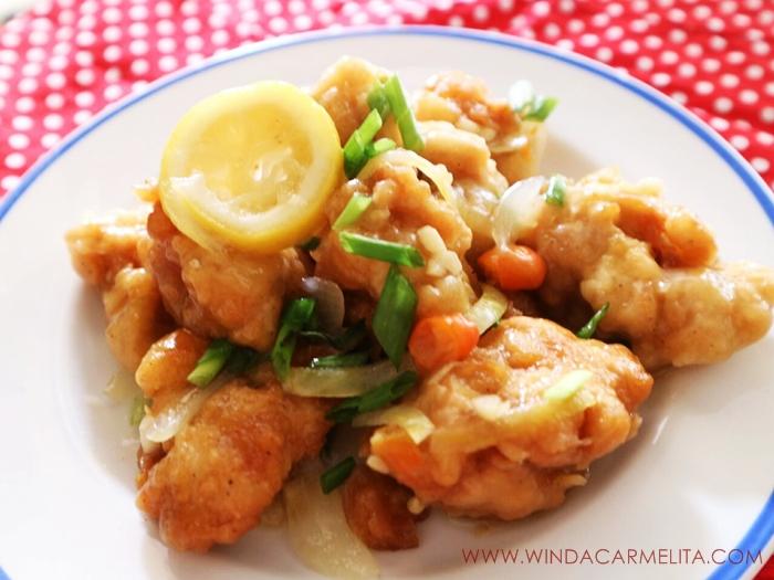 resep ayam saus lemon, chicken lemon sauce, ayam saus lemon, ayam masak lemon, ayam goreng, cara membuat ayam goreng, ayam goreng tepung, ayam goreng krispi, ayam goreng crispy, chinese food, national geographic, natgeo people,