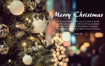 Wallpaper: Christmas Greetings & Happy New Year
