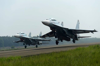 Pesawat Tempur Su-30 Rusia