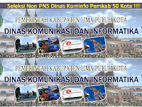 Seleksi Non PNS Dinas Komunikasi dan Informatika Pemkab 50 Kota - Sumbar