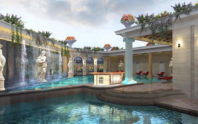 Bể bơi chung cư Quảng An