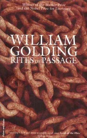 Book cover for Rites of Passage by William Golding Rites of Passage in the South Manchester, Chorlton, Cheadle, Fallowfield, Burnage, Levenshulme, Heaton Moor, Heaton Mersey, Heaton Norris, Heaton Chapel, Northenden, and Didsbury book group