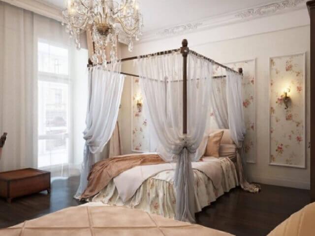Romantik yatak odası dekorasyon örnekleri 6