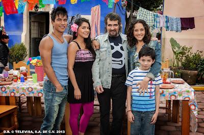 Família Mendonça – Divulgação SBT/Televisa