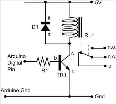 Battery monitor and Relay Control with Arduino 2