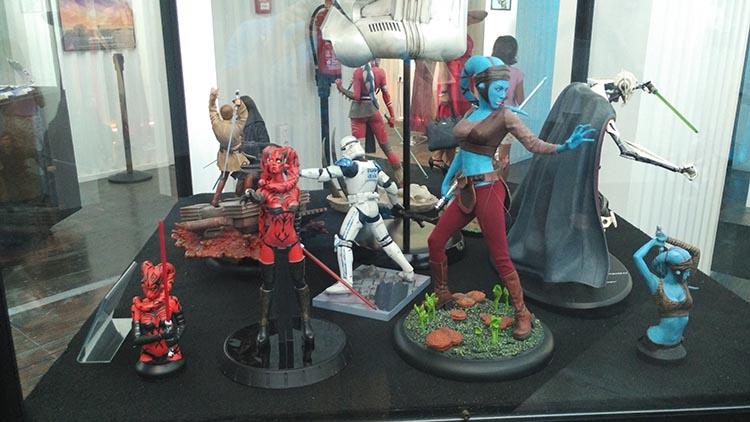"""Darth Talon en la Exposición Star Wars: """"Mitos de una galaxia muy lejana"""""""
