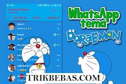 Download Whatsapp Tema Doraemon MOD APK terbaru