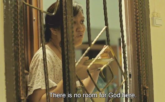 """There is no room for God here."""