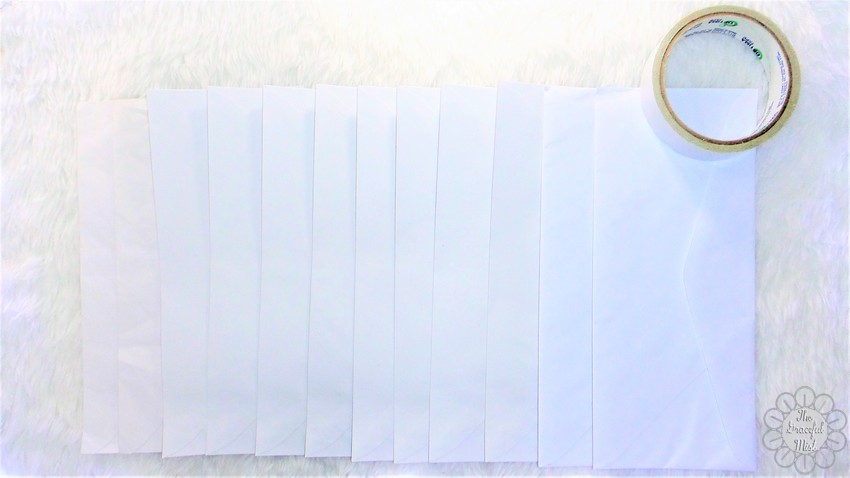 Easy Do-It-Yourself Project: Bills and Receipts Organizer | Created by +The Graceful Mist (www.TheGracefulMist.com) - Arts, Crafts, Lifestyle Blog by Filipino/Filipina Blogger in Quezon City, Metro Manila, Philippines - DIY Project Steps