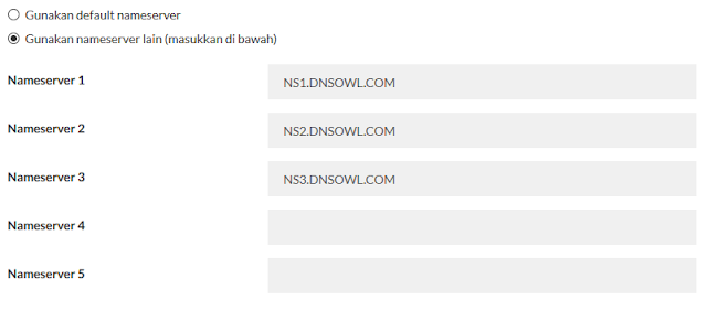 cara custom domain blog