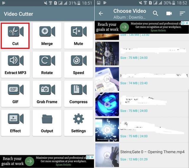 Cara Mudah Memotong Video di Android Terbaru