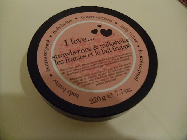 I love .. strawberries and milkshake - body butter - body skincare - body product - review