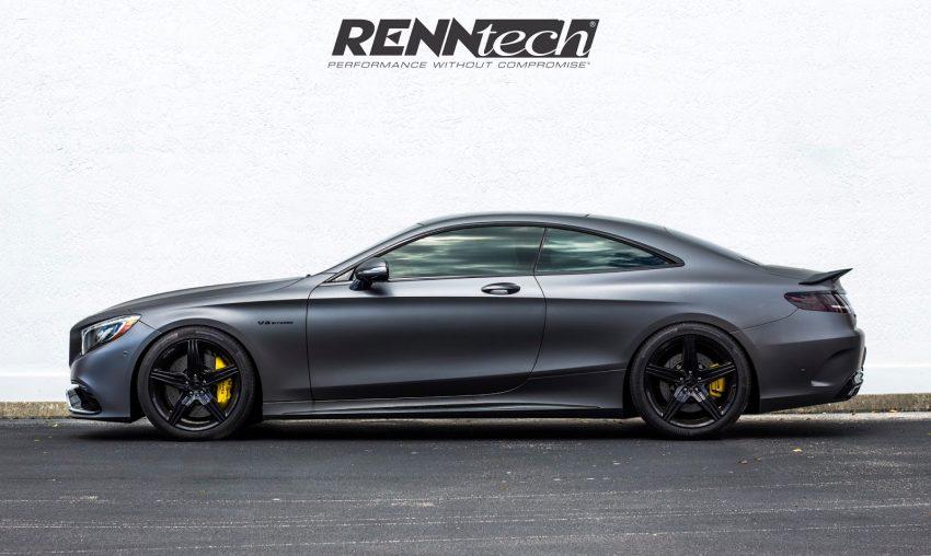 Mercedes-AMG S63 Coupe độ lại động cơ và một phần ngoại thất