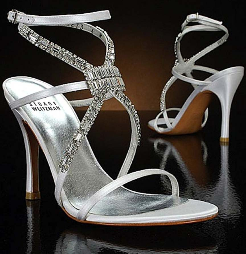 6 Platinum Guild Stiletto By Stuart Weitzman Million Stuart Weitzman Diamond Dream Stilettos Shoes
