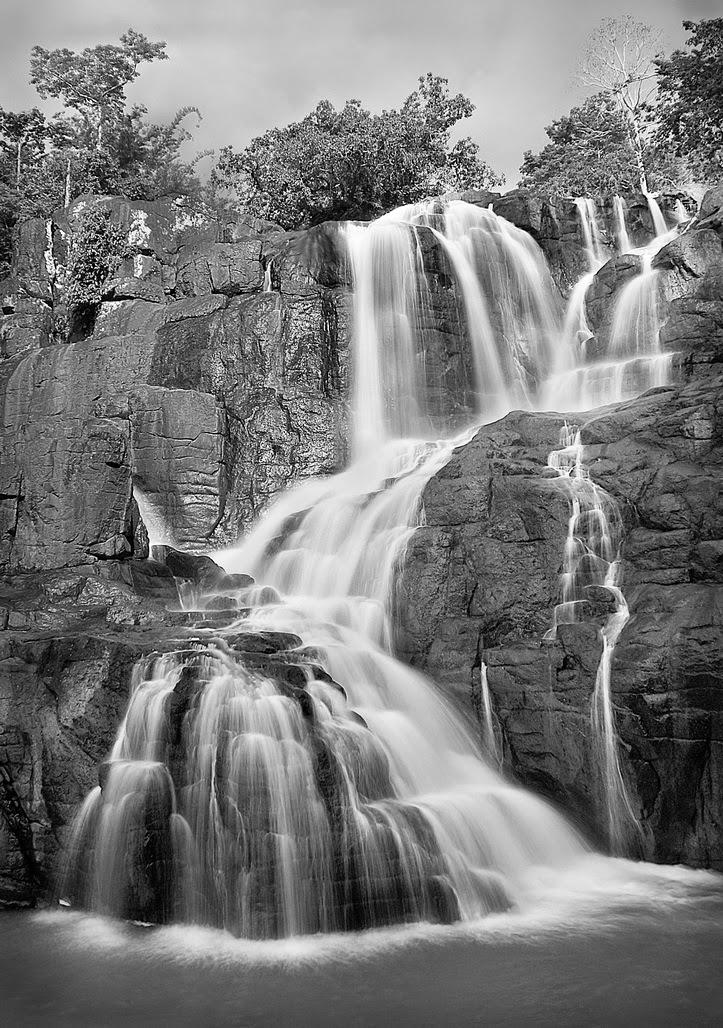 Waterfall beautiful photo