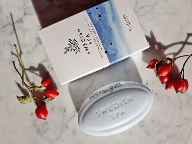 exfoliante swedish spa oriflame