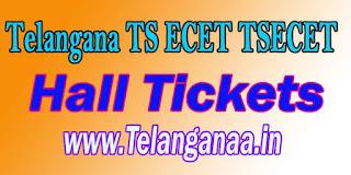 Telangana TS ECET HallTickets TSECET 2017 Hall Tickets Download