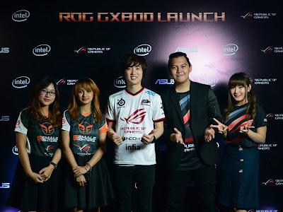 Brand Ambassador ASUS ROG Candra Liow