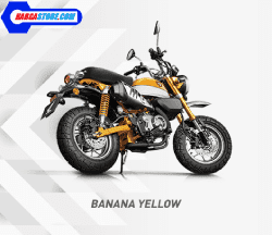 Honda Monkey yellow