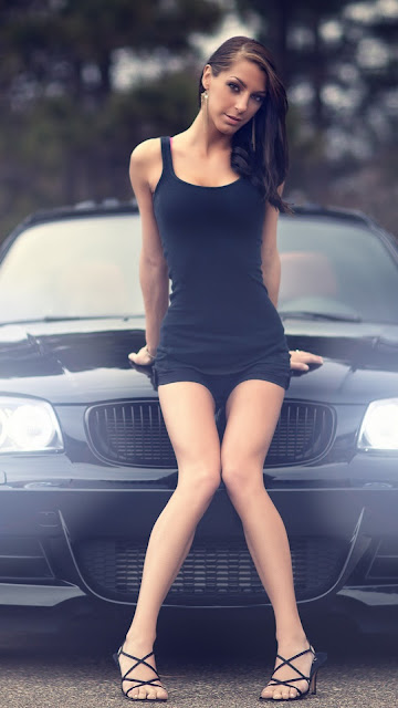 Girls and Car Iphone 6 Wallpapers Download Free