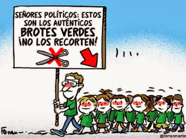 Viñetas sobre educación, Ferrán Martín, FETE-UGT Ceuta