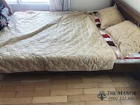 Cho thuê căn hộ studio The Manor 2 quận Bình Thạnh | giường ngủ đôi