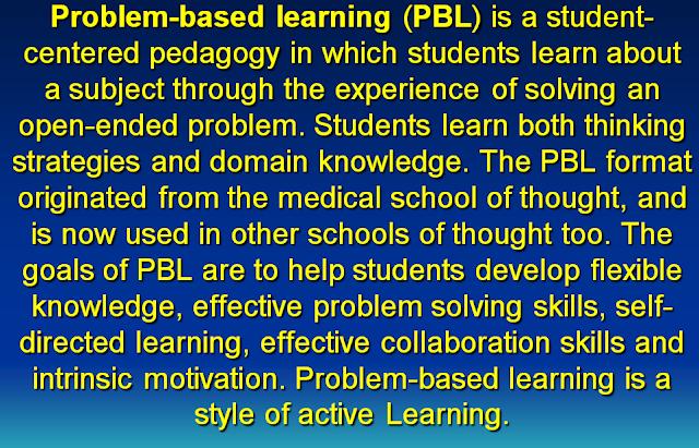 Konsep dan Pembahagian Curriculum Problem Center