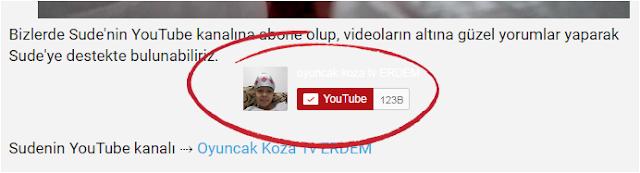 YouTube Abone Ol düğmesi