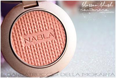Nectarine BLOSSOM BLUSH  SHADE & GLOW Nabla Cosmetics