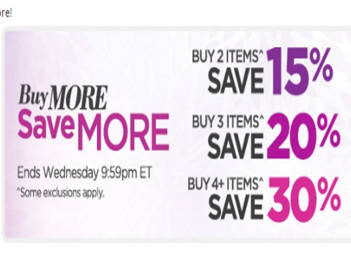 The Shopping Channel Buy More Save More Up To 30% Off Promo Code