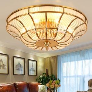 Tại sao nên lựa chọn đèn ốp trần trang trí phòng khách