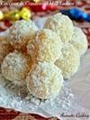 Coconut And Condensed Milk Ladoos